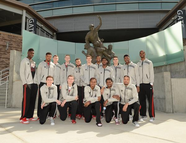 The Hoosiers spent the day in Omaha today, and will play Wichita State Friday at 2:45 ET. (image credit: @IndianaMBB)