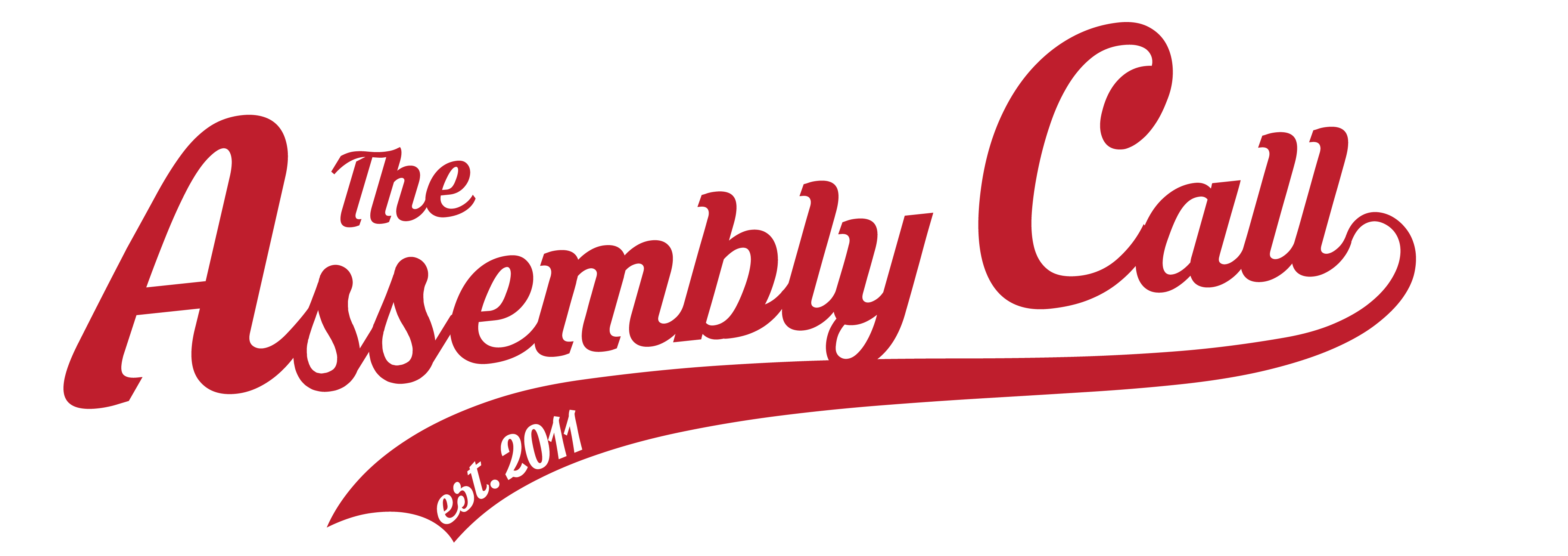 Official Gear with the Assembly Call Logo