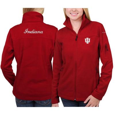 Women's Columbia Crimson Indiana Hoosiers Give & Go Full-Zip Jacket