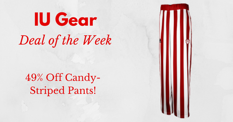 IU Deal of the Week: 49% Off Candy-Stripe Pants (Limited Time Only)
