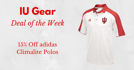Deal of the Week: 15% Off adidas Climalite Sideline Polos