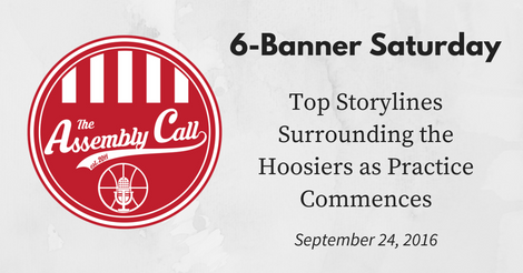 6-Banner Saturday: Top Storylines Surrounding the Hoosiers as Practice Commences
