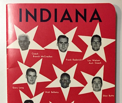 1959-60 Indiana Basketball Media Guide