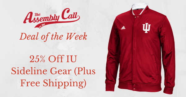 Deal of the Week: 25% Off IU Sideline Gear (and Free Shipping)