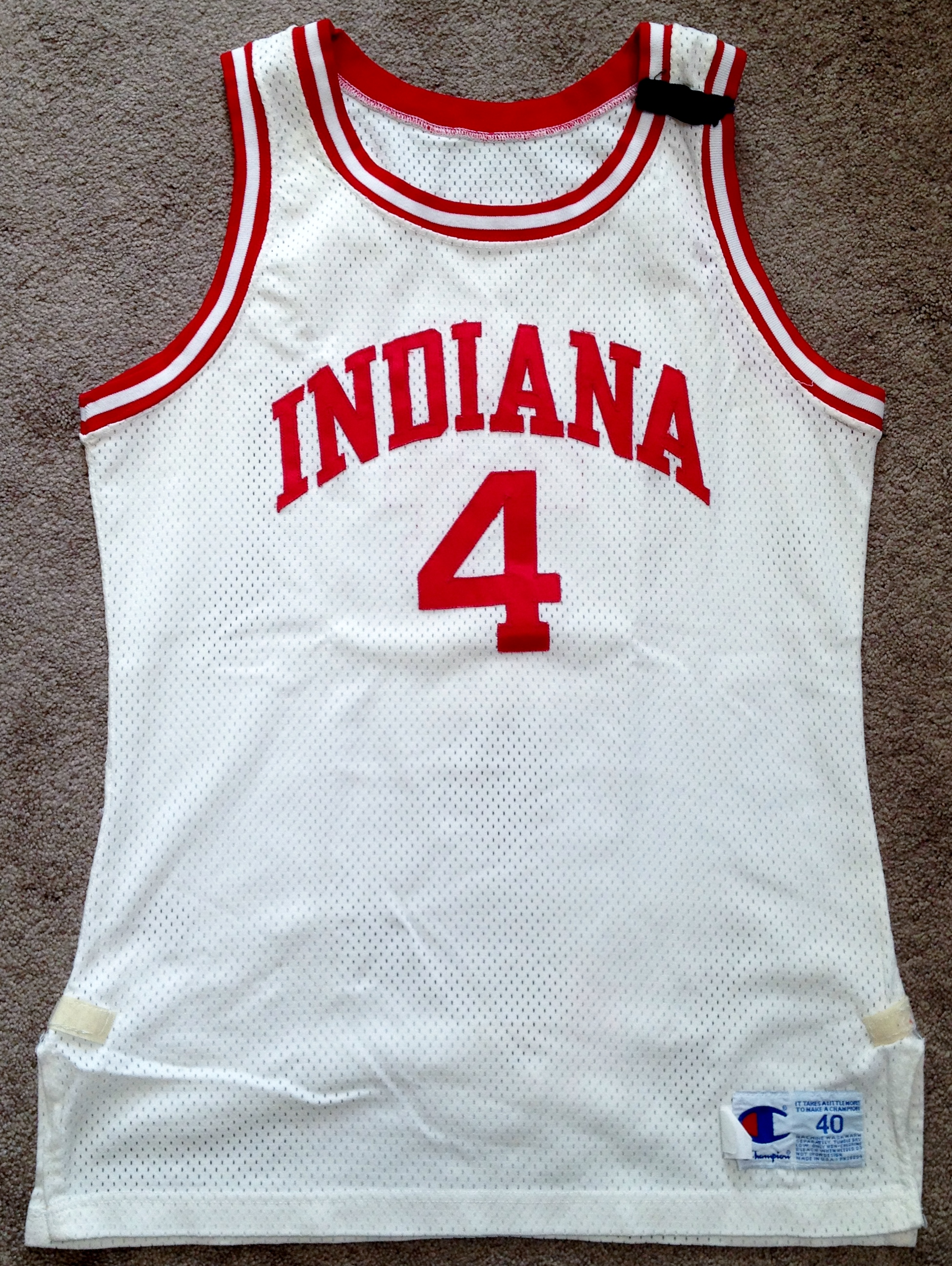 A Guide To Indiana University Game-Used Basketball Jerseys