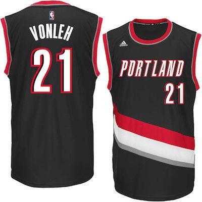 Noah Vonleh Blazers jersey
