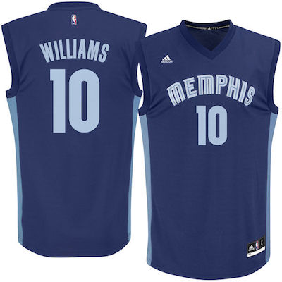 Troy Williams Grizzlies jersey