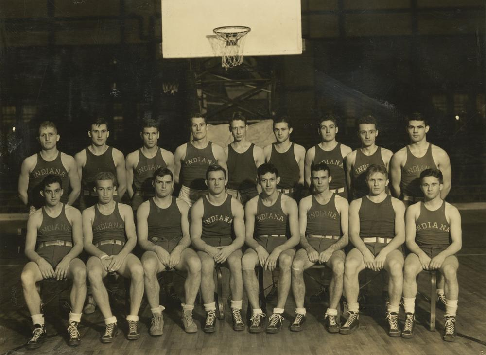 The 1931-32 Indiana Hoosiers. Photo: courtesy of IU Archives.