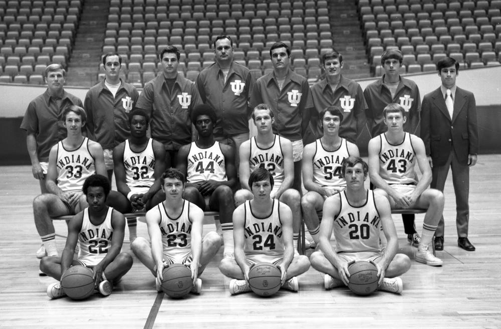 The Hoosiers of 71-72. Photo: courtesy of Indiana University Archives.