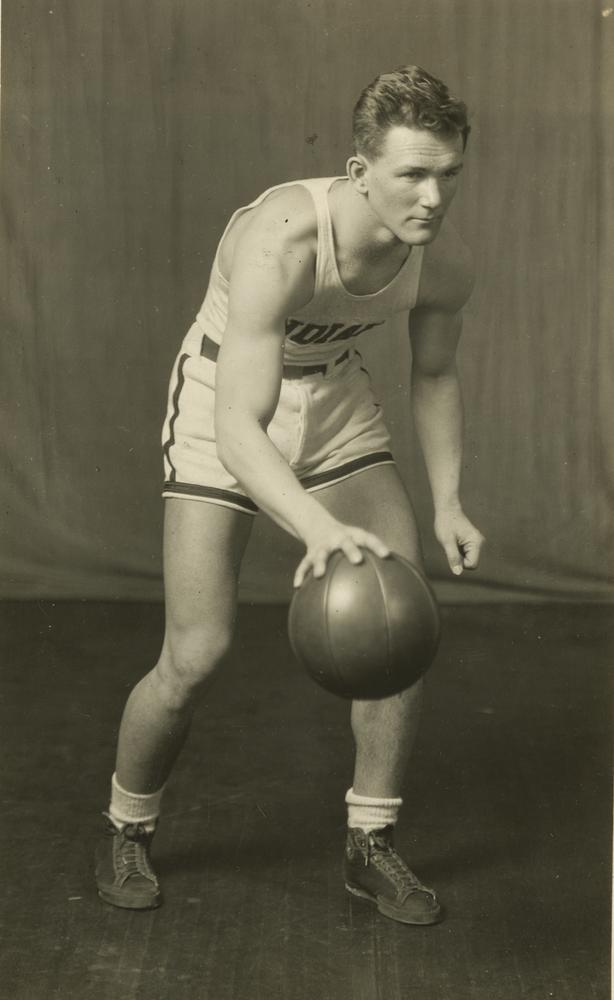 Joe Zeller would go down in IU history as one of IU's greatest all-around athletes.