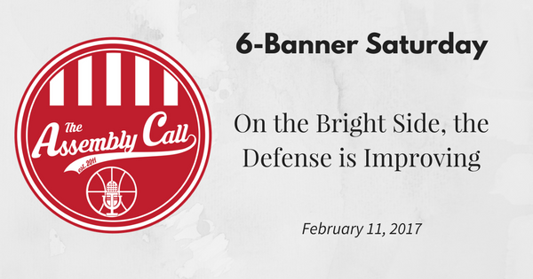 6-Banner Saturday: On the Bright Side, the Defense is Improving