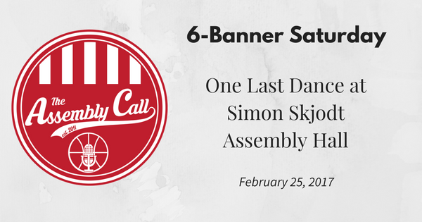 6-Banner Saturday: One Last Dance at Simon Skjodt Assembly Hall