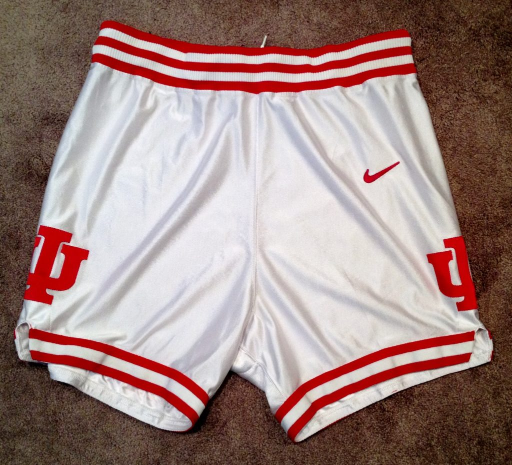 2000-01 game used shorts