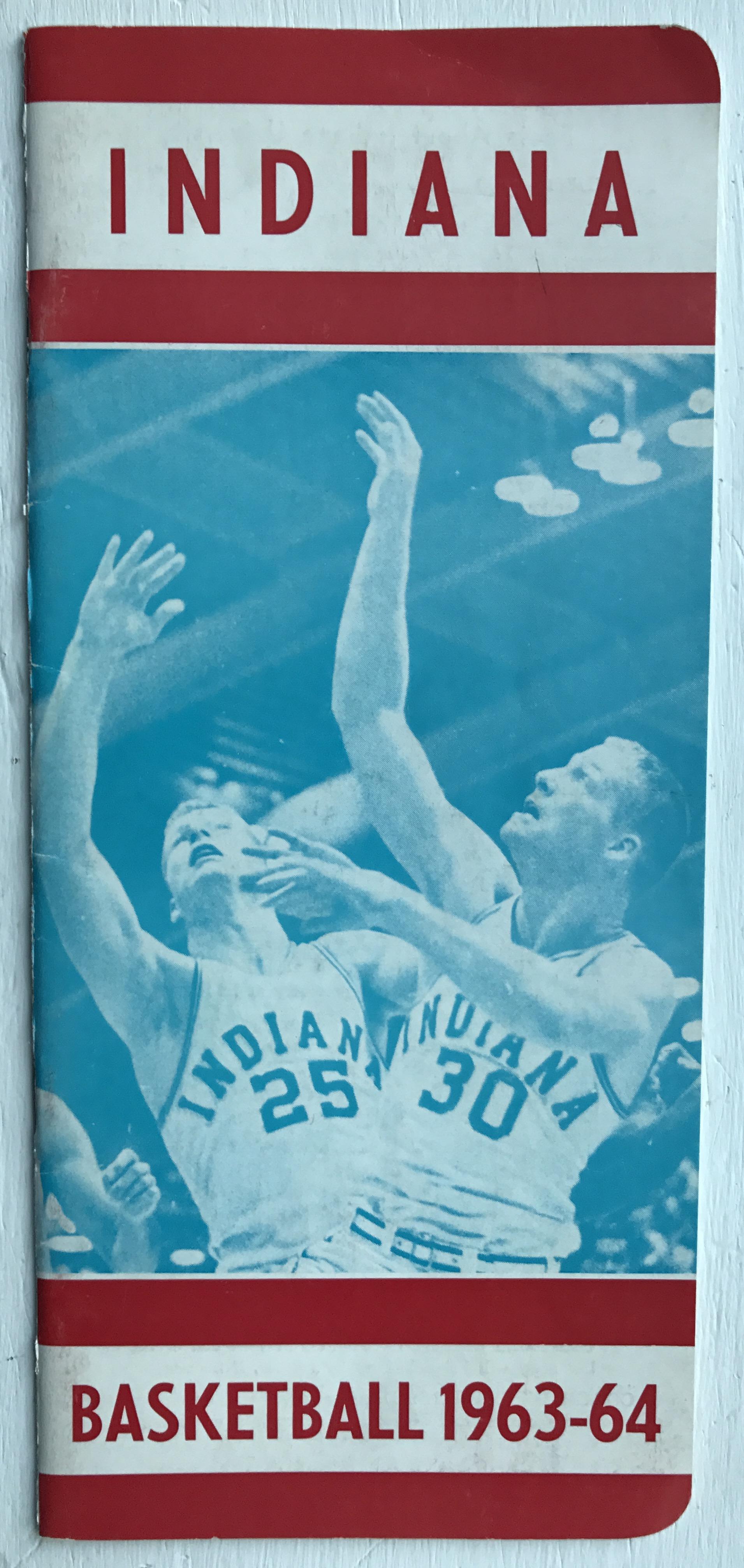 1963-64 Indiana Basketball Media Guide