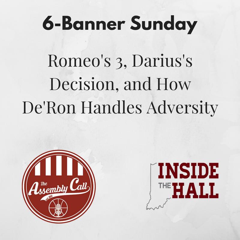 Roundup: Romeo's 3, Darius's Decision, and How De'Ron Handles Adversity