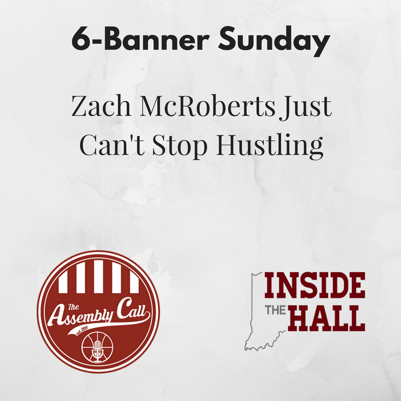 Roundup: Zach McRoberts Just Can't Stop Hustling